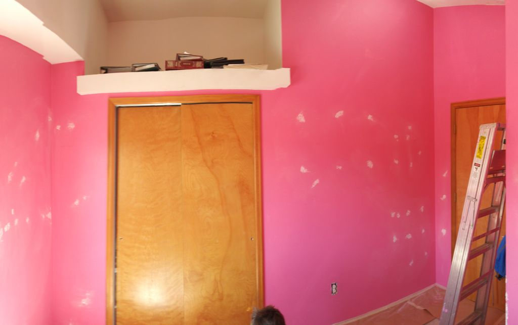 Painting Spare bedroom