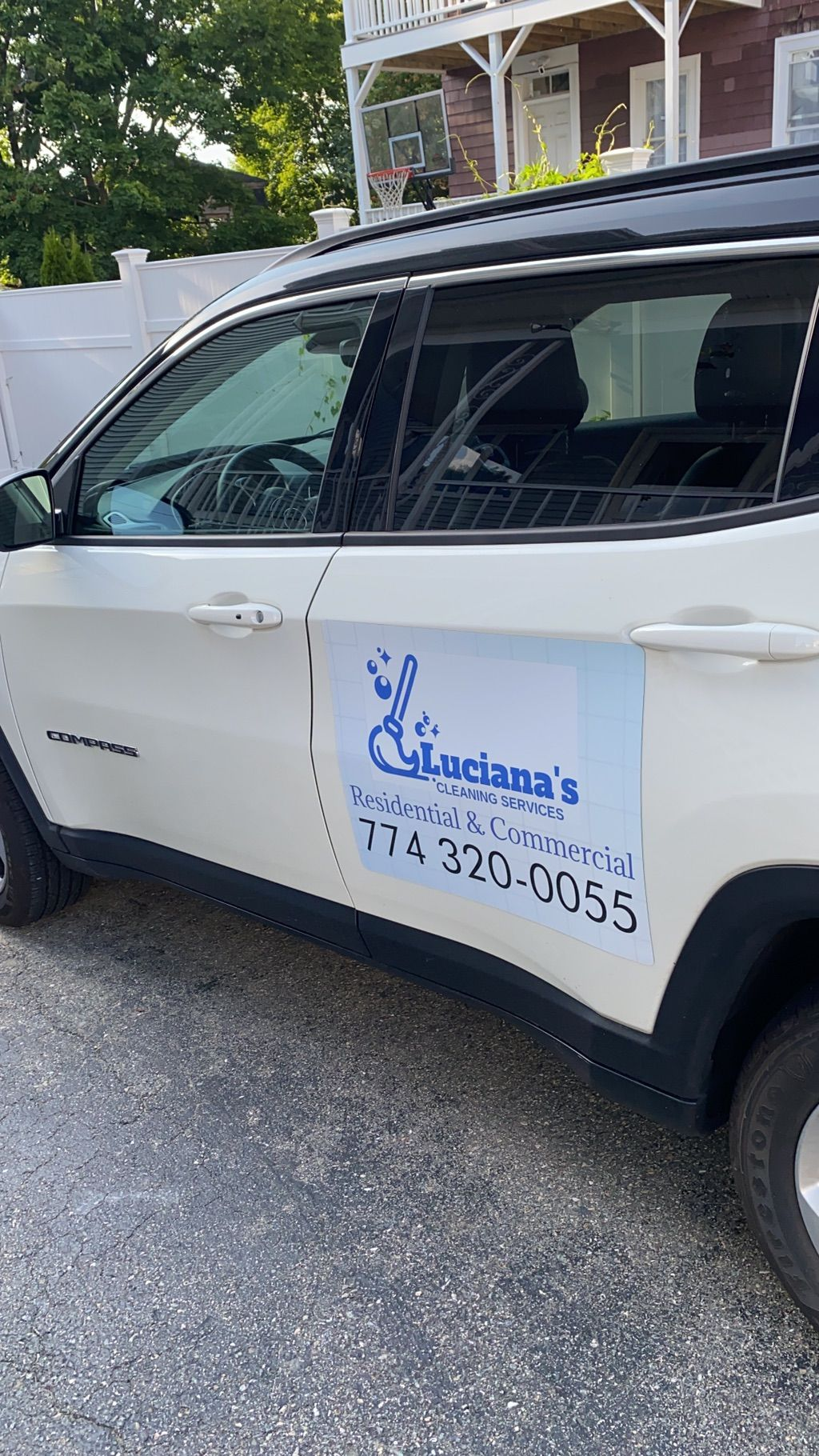Luciana's cleaning services