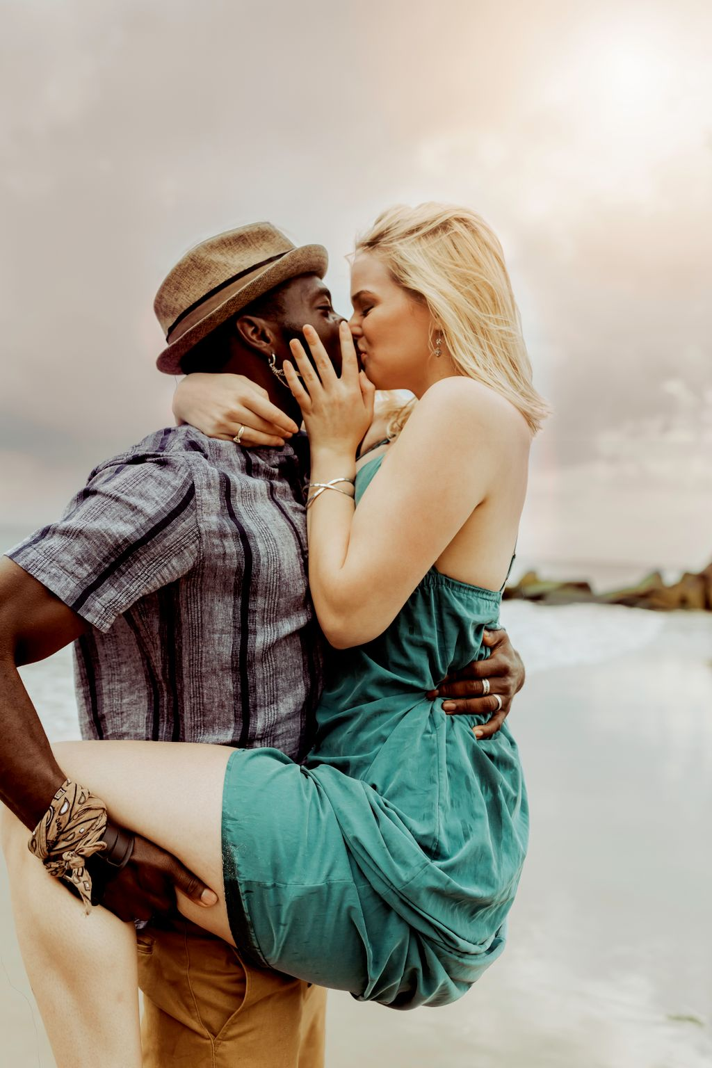Beach Getaway Engagement Session