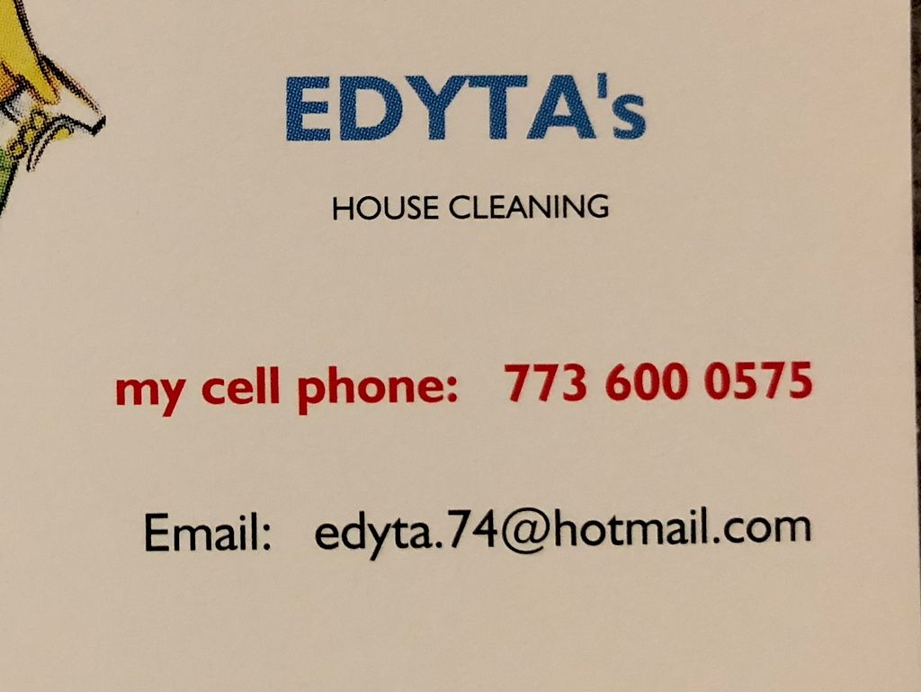 Edyta's  HOUSE Cleaning service