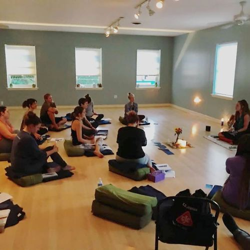 Photo from my Soul Journey Workshop at Yoga Source in Richmond, VA