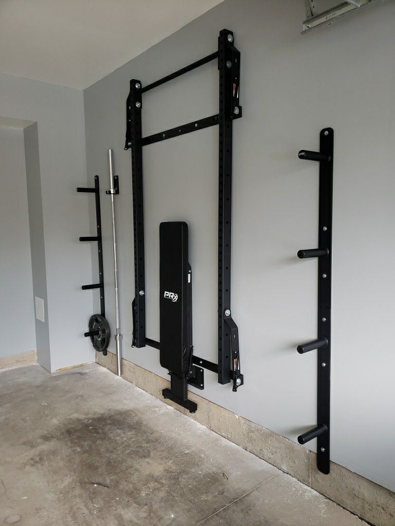 Squat Rack with Pull-Up Bar & Weight Storage