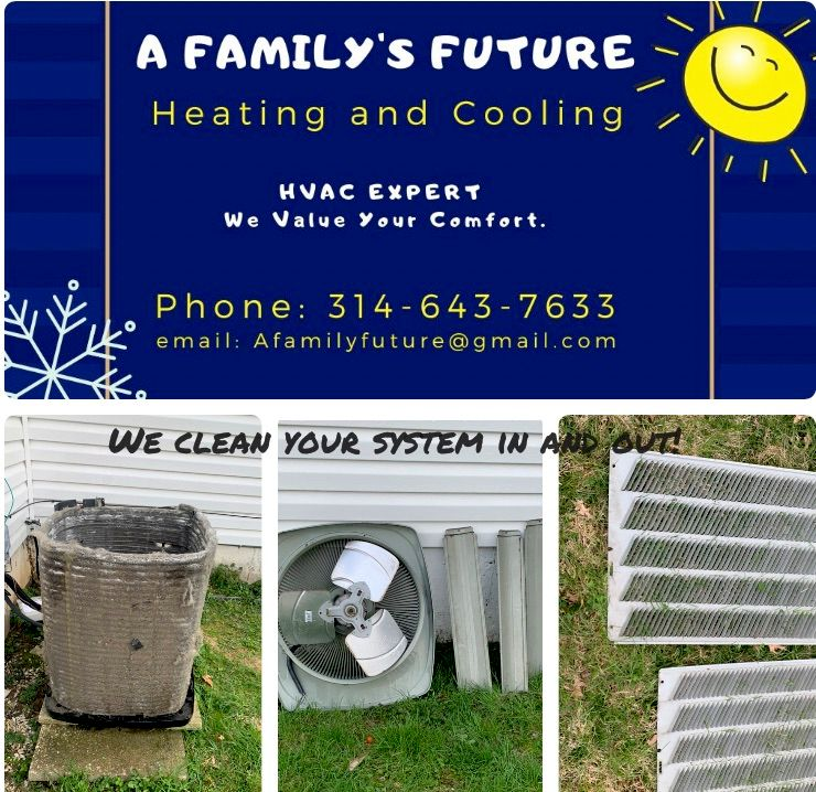A family's future heating and cooling