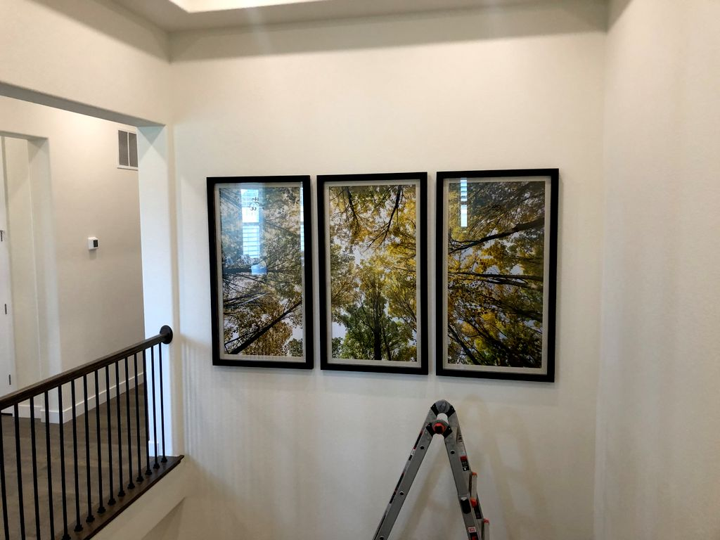 Picture Hanging and Art Installation - Castle Rock 2020