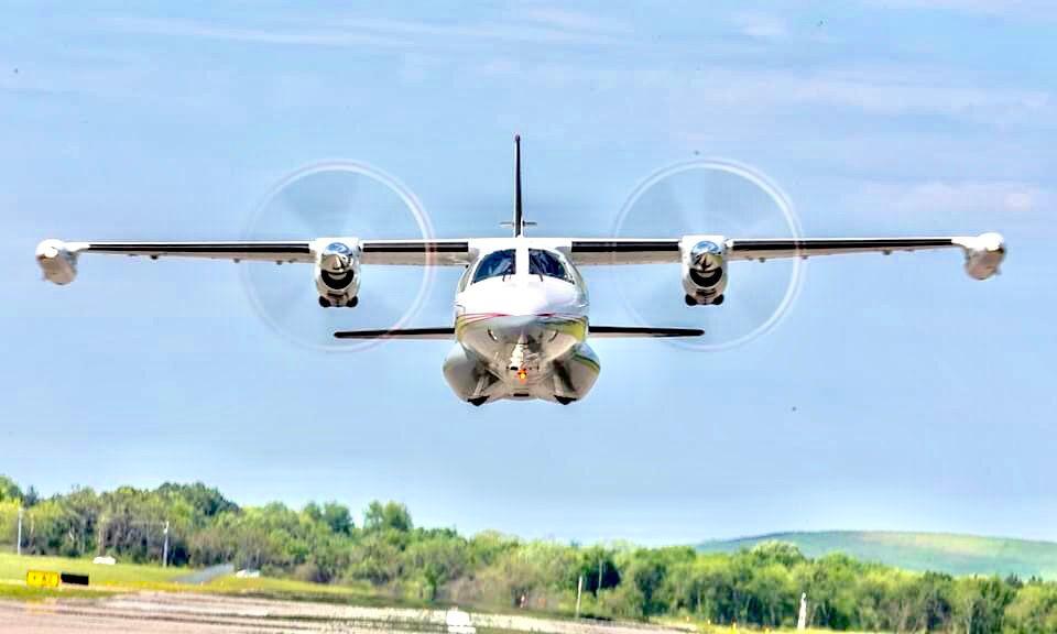 Low pass flight