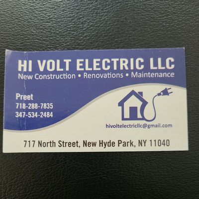 Avatar for Hi Volt Electric LLC