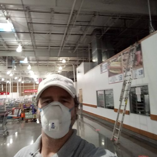 Working in high profile environments Costco.