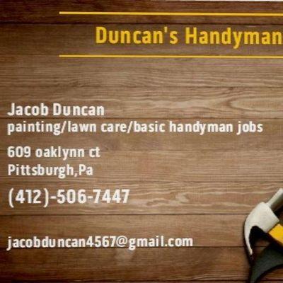 Avatar for Duncan's Handyman Service's