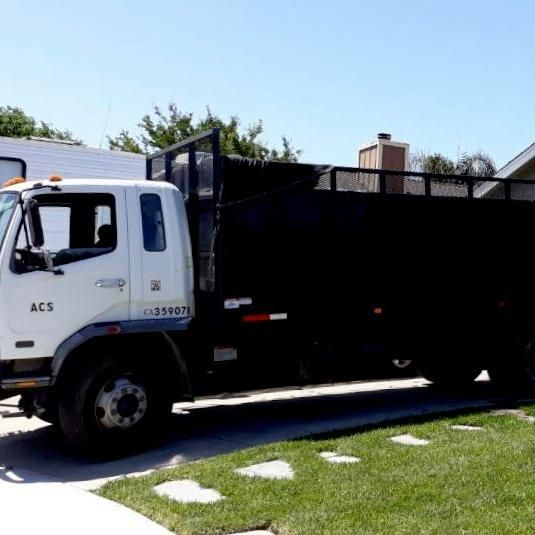 ACS Clean Up Services and concrete