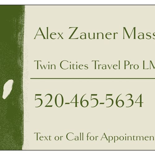 Twin Cities Travel Massage Therapist