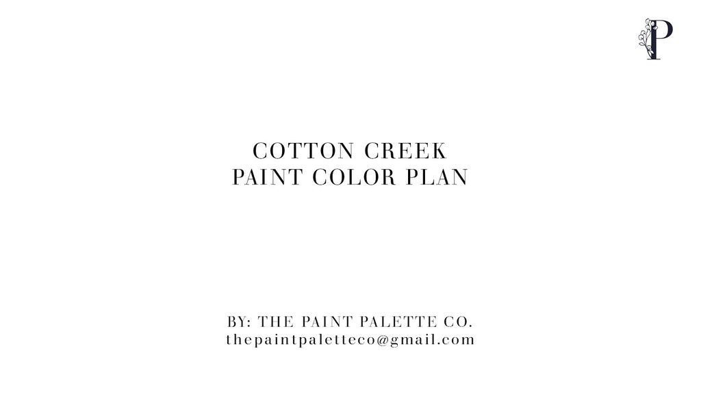 Interior Online Paint Color Plan