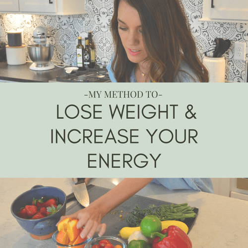 Download my e-book to learn more about my weight-loss method!