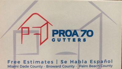 Avatar for PROA 70 Gutters