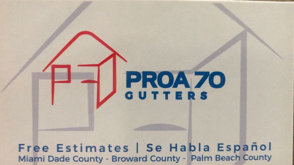 PROA 70 Gutters