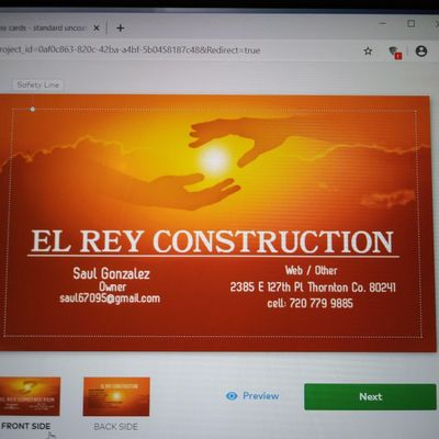 Avatar for El Rey Construction