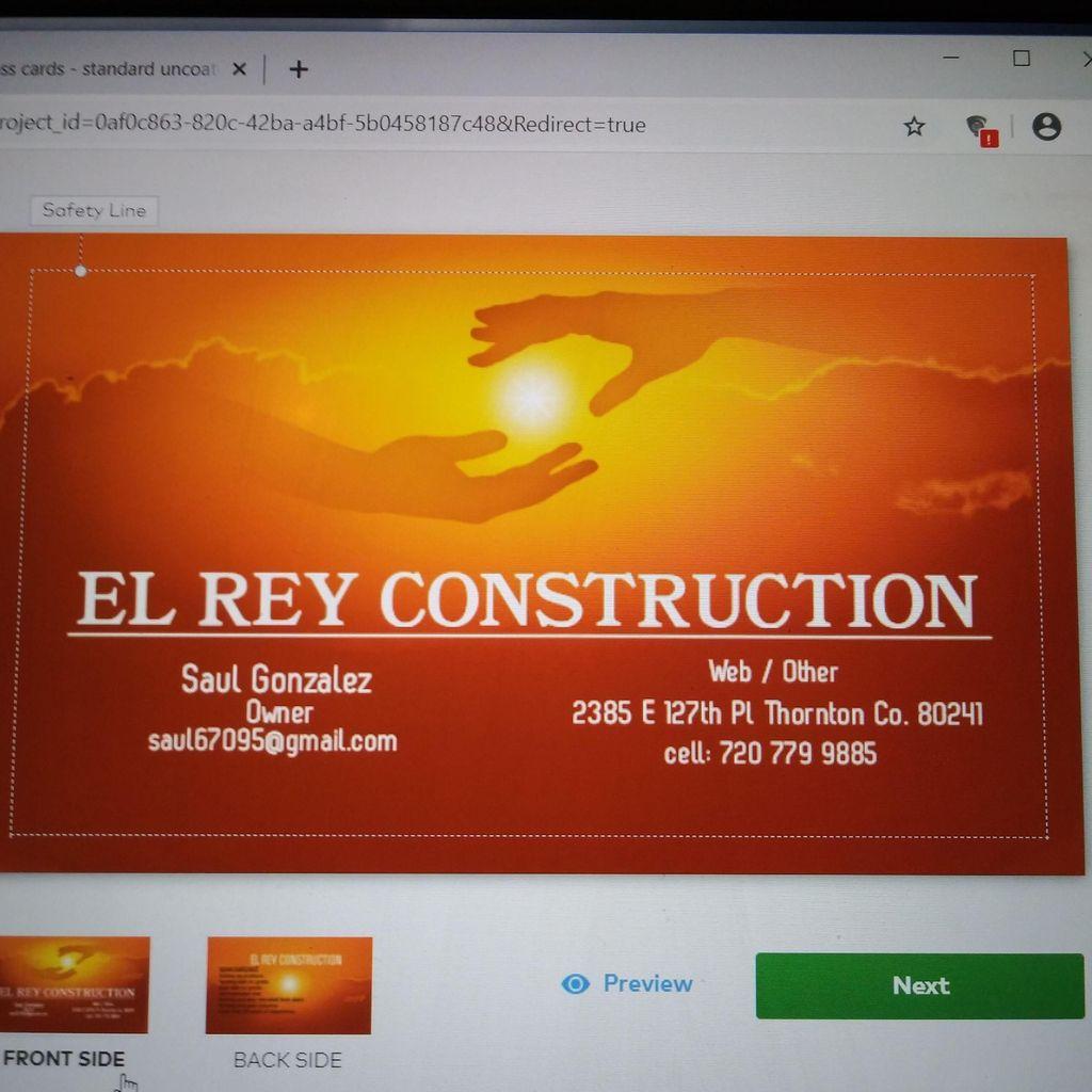 El Rey Construction