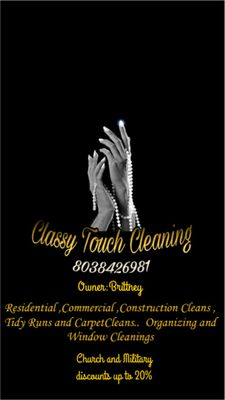 Avatar for Classy Touch Cleaning Service's LLC