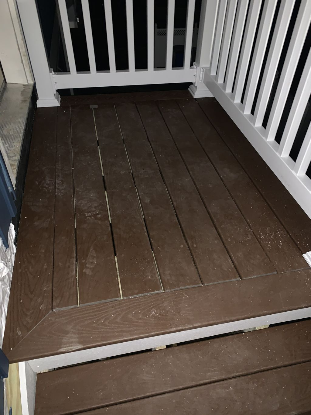Removed existing steps and replaced with new ones up to code