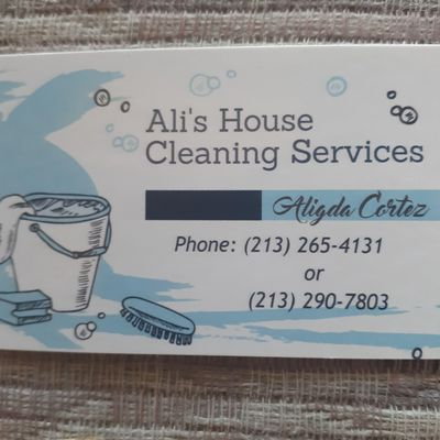Avatar for Ali's House Cleaning Services