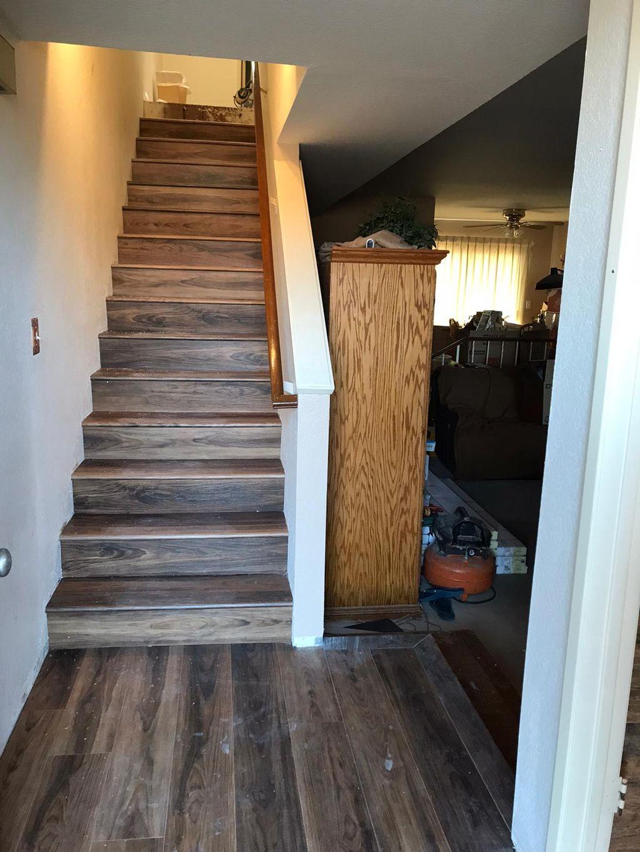 Carson Floor Installation