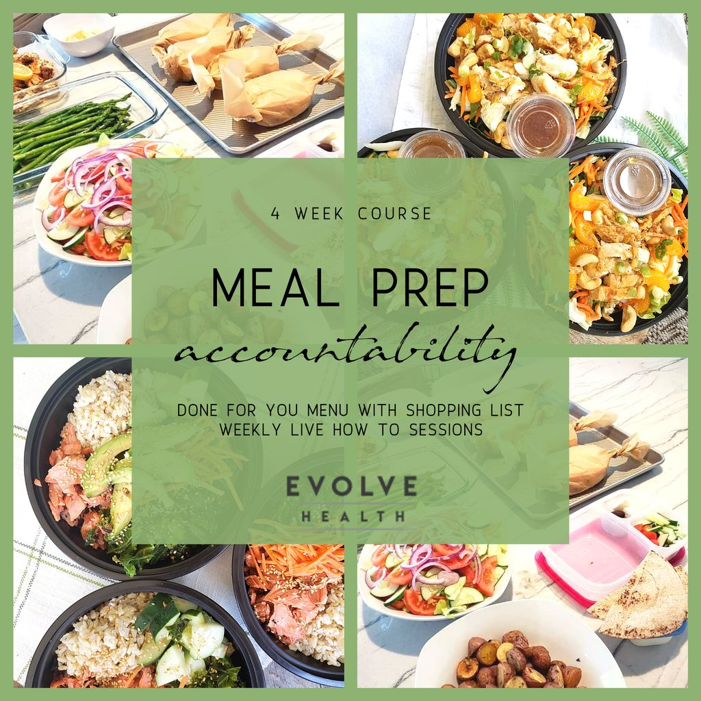 Meal Prep Accountability Course