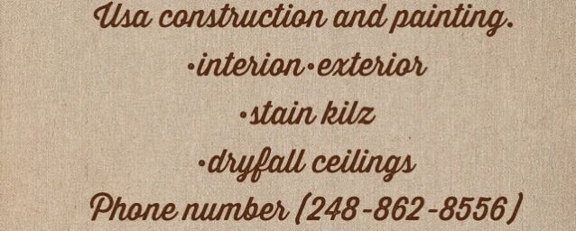 USA construction and painting