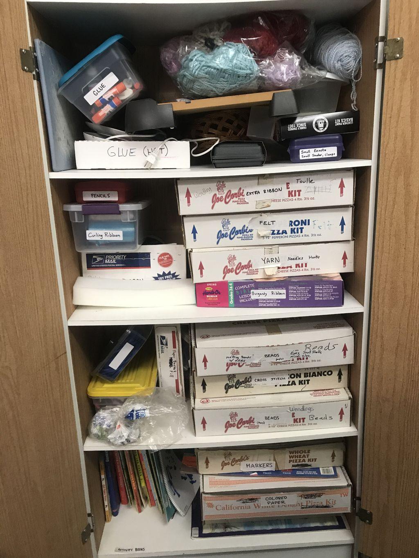 Craft Room Organization Project