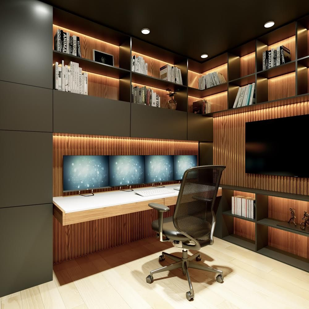 Home Office Design & Remodel
