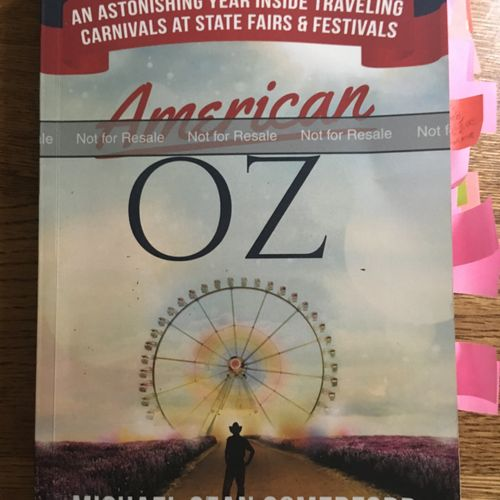 Written by Pulitzer-prize nominated journalist Michael Sean Comerford, American Oz is the second memoir I've edited and proofread.