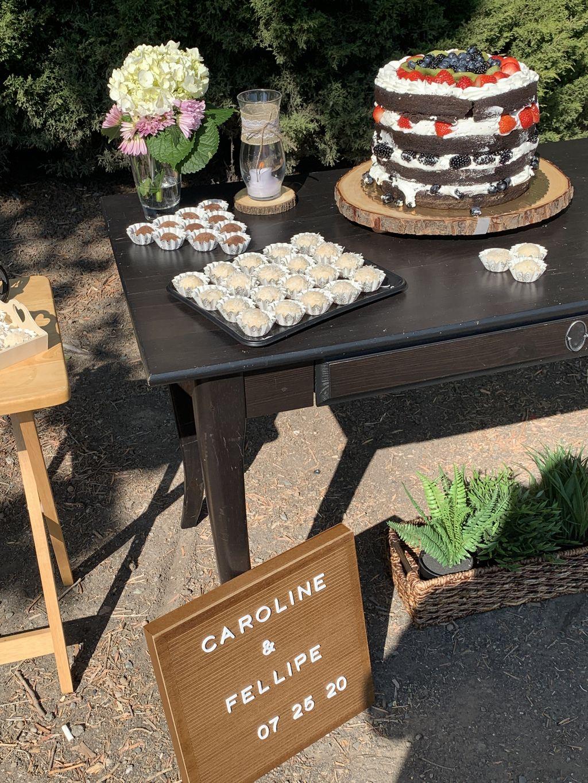 Beautiful Safe Outdoor Wedding Ceremony