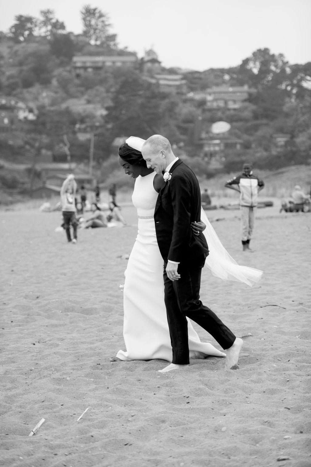 COVID Wedding, Gabrielle & Eli
