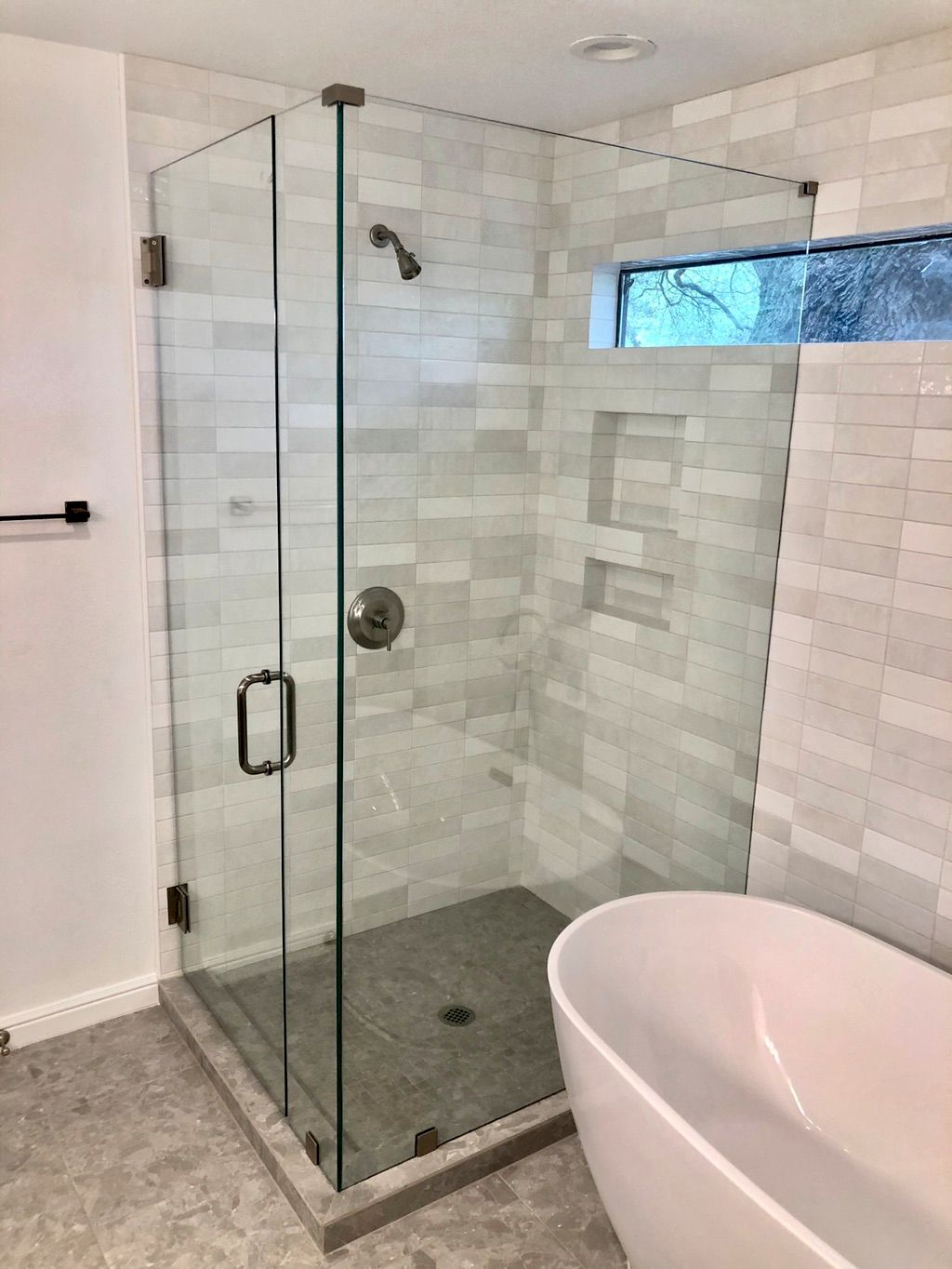 Clearview frameless