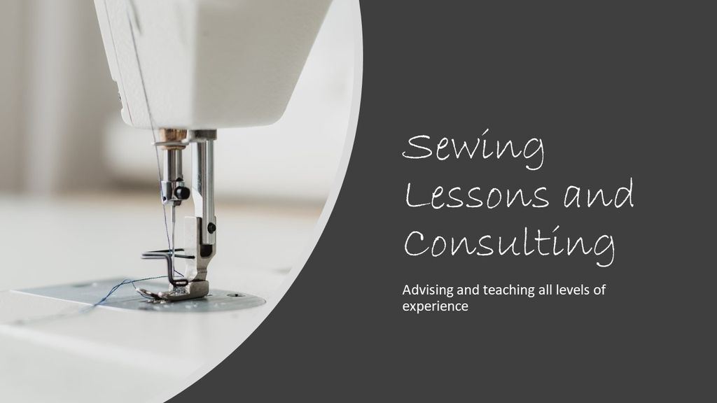 Sewing Lessions