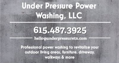 Avatar for Under Pressure Power Washing, LLC