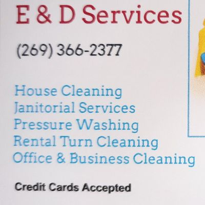 Avatar for E & D Services