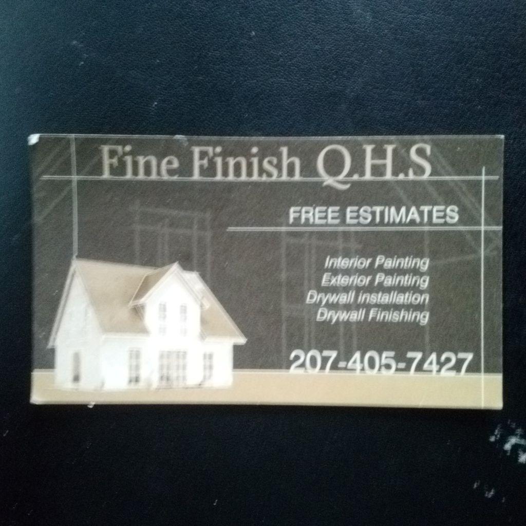 Fine Finish Q.H.S
