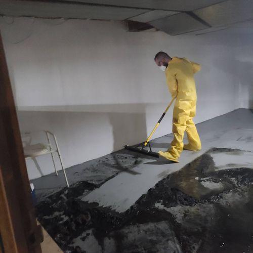 Sewage Clean-up