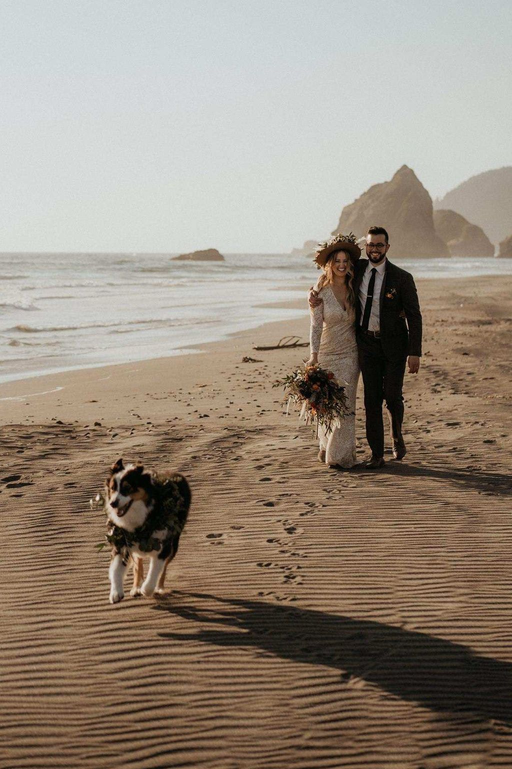 Wedding at the Oregon Coast