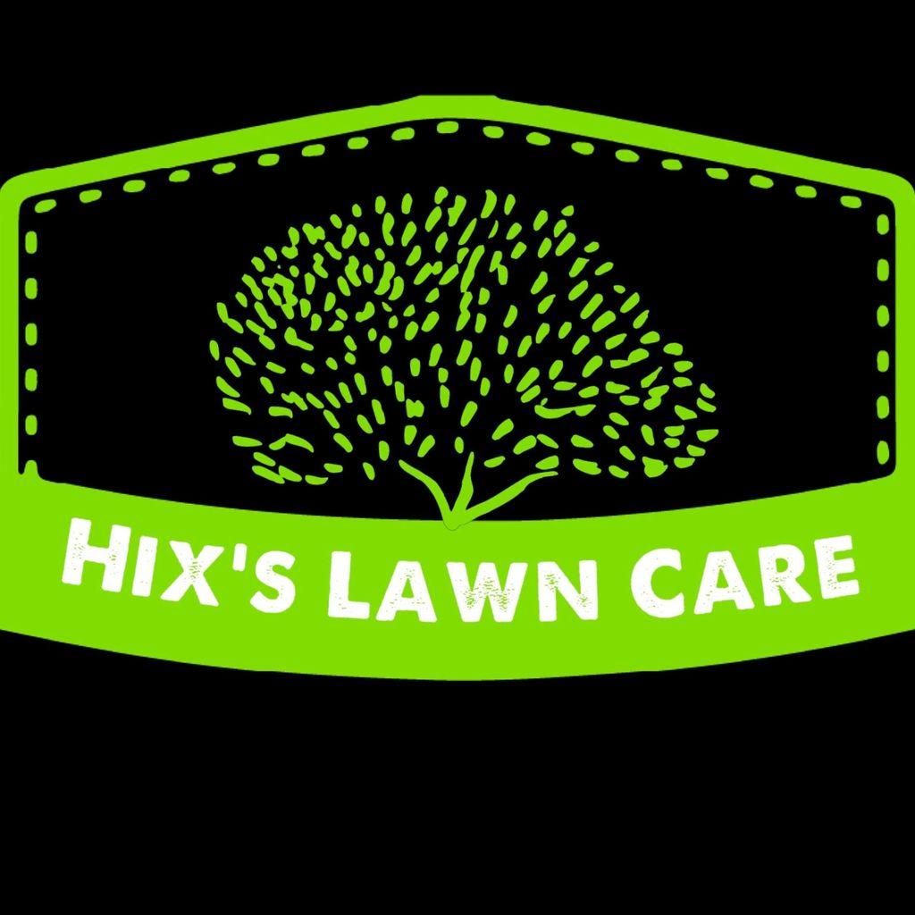 Hix's lawn care