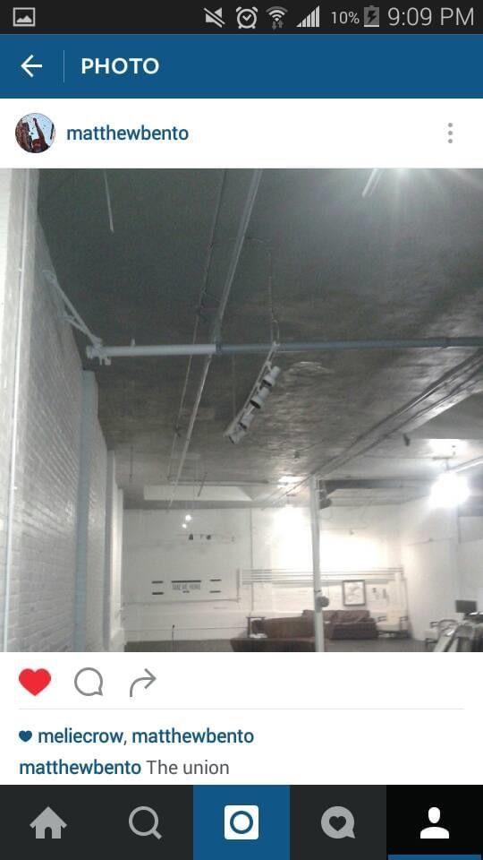 Warehouse XI Somerville light install