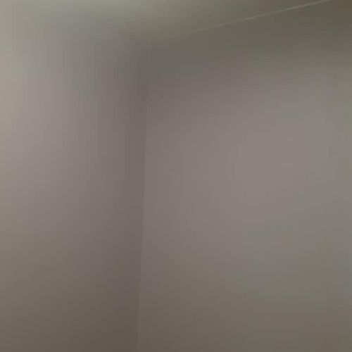 After Drywall, texture and painting
