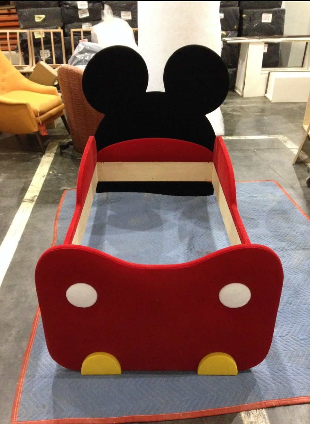 Mickey Mouse Child's Bed Frame