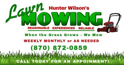 Avatar for Hunter Wilson's Lawn Mowing