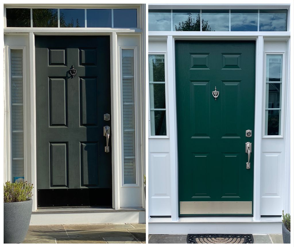 From Old to New -- Provia Entry Door