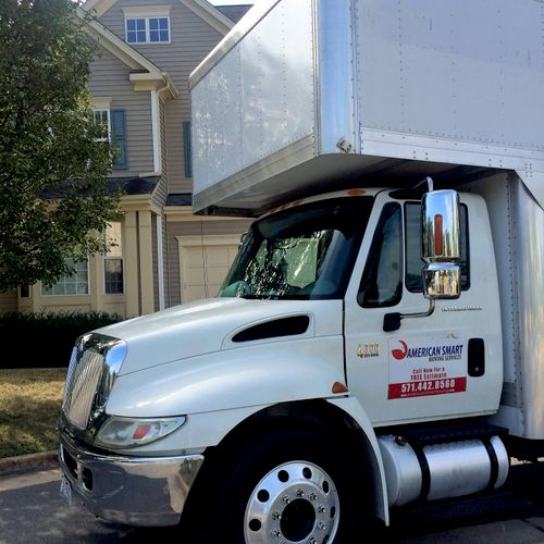 Moving a town home in beautiful Broadlands, VA