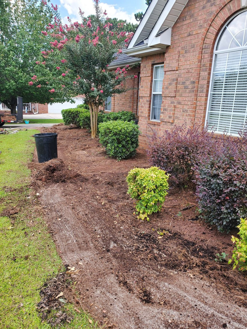 Plant Removal - Landscaping lawn Beds Design change
