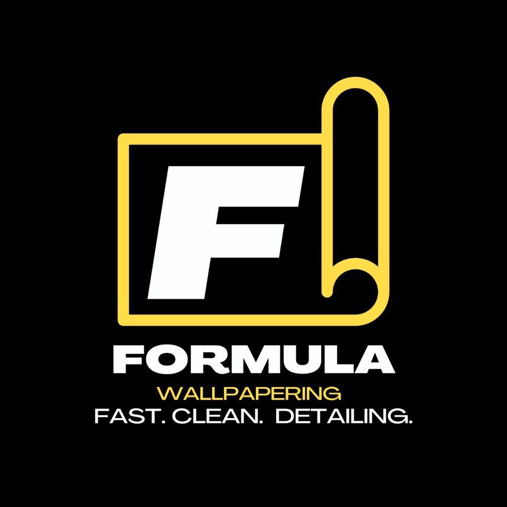 Formula Wallpapering