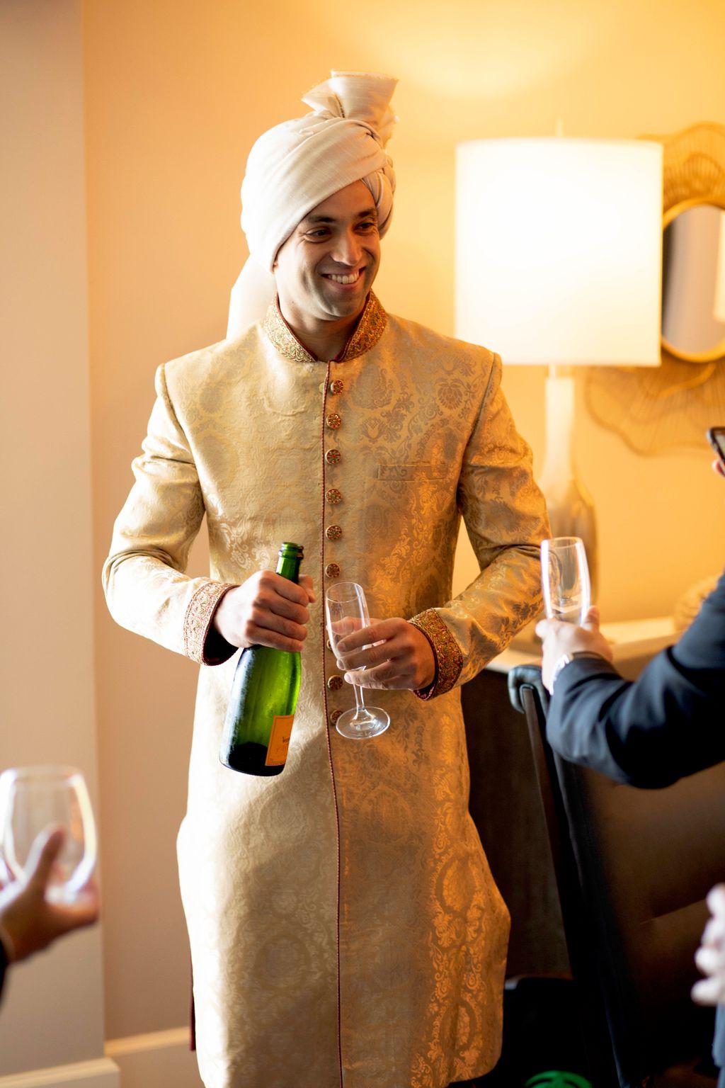 Fusion Wedding in Ritz Carlton, Half Moon Bay, CA