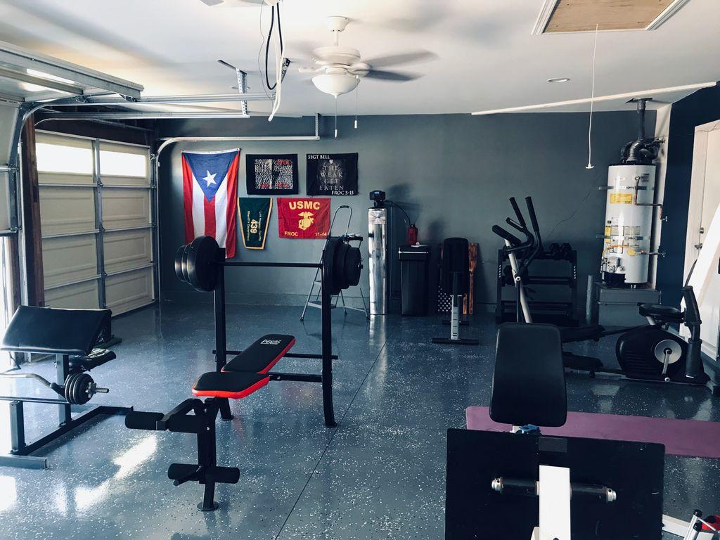 Garage conversions to gym