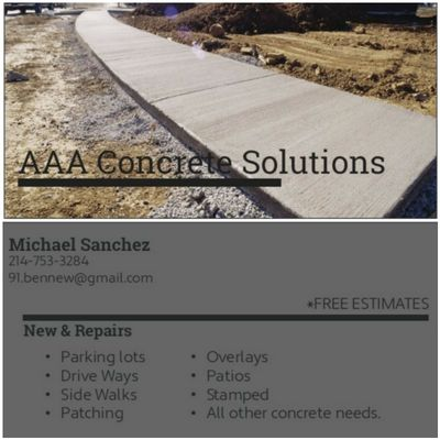 Avatar for AAA Concrete Solutions